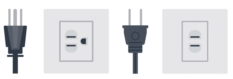 Class I and Class II Power Outlets